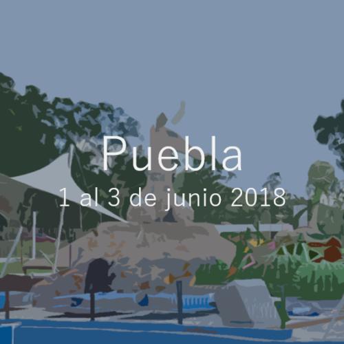 Puebla 1 al 3 de junio