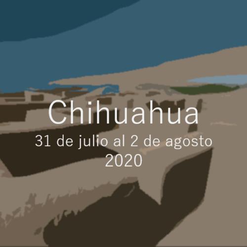 Chihuahua Agosto 2020